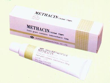 Methacin (Indomethacin Gel 10 gm/gm) (Methacin (Indomethacin Gel 10 gm/gm))