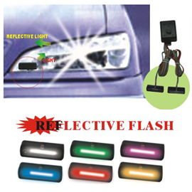 HEADLIGHT REFLECTIVE STROBE (HEADLIGHT REFLECTIVE STROBE)