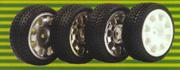 R/C Model Car Wheel for 1:10 Touring Car (R / C Model Car колесо 1:10 Touring Car)