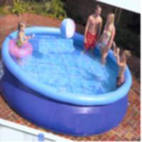 PVC tarpaulin inflatable pool (ПВХ брезент надувным бассейном)