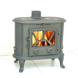 Cast Iron Wood Stove + Airwash System