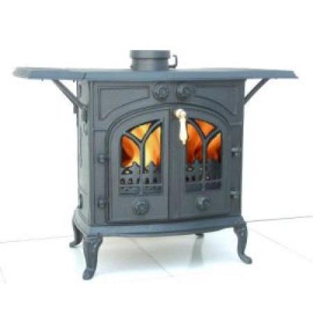 Cast Iron Wood Stove + Cleanburn System + Airwash System ***(Fresh Air System Av