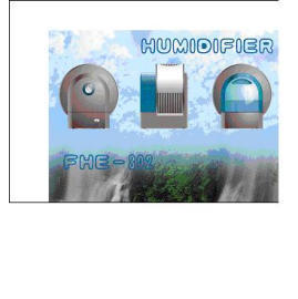 Evaporative Roller-Type Humidifier