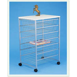 Wire Basket Storage Unit
