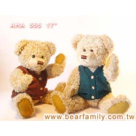 Teddy Bears w/Vest