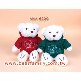 Teddy Bears w/Sweater