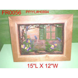 15``L X 12``W FLORAL SHADOW BOX (15``L X 12``W FLORAL Shadow Box)