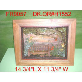 14``L X 11``W FLORAL SHADOW BOX (14``L X 11``W FLORAL Shadow Box)