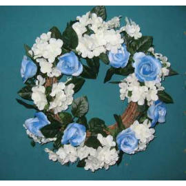 16`` DIA ROSE WREATH (16``DIA couronne de rose)