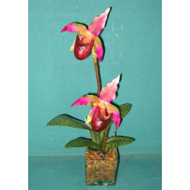 15``H POTTED SLIPPER ORCHID (15``H EMPOTE PANTOUFLE ORCHID)