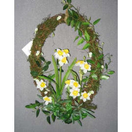 10``X14``L NARCISSUS WREATH (10``X14``L НАРЦИСС ВЕНОК)