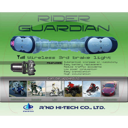 Wireless LED Third Brake Light System (Беспроводной светодиодный стоп-сигнал системе)