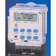 WEEKLY PROGRAMMABLE ELECTRONIC TIMER.