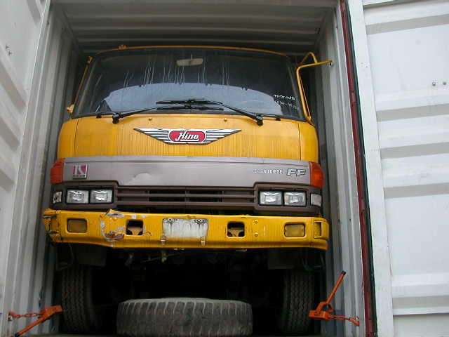 USED COMPLETE TRUCK - HINO