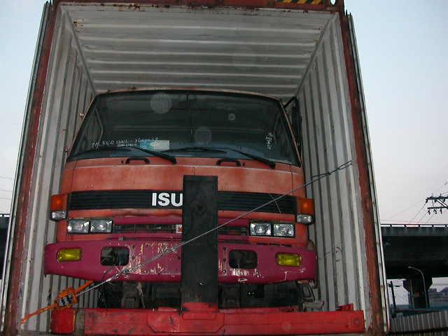 USED COMPLETE TRUCK - ISUZU