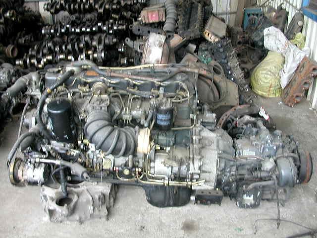USED ENGINE WITH GEAR BOX (Отработанное моторное с коробкой передач)