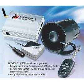 GSM+GPS car alarm system (GSM + GPS машине сигнализация)