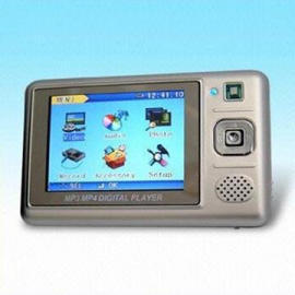 Portable MP4 Player with Video Recorder Function