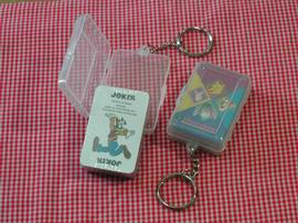 playing cards with keychain