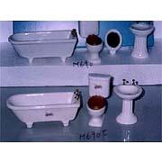 Doll House Bathroom Set (Кукольный дом Набор для ванной комнаты)