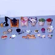 Kitchen Items for Doll House (Изделия для кухни Кукольный дом)
