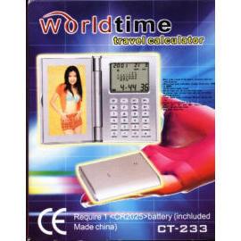 World time travel calculator (Мир путешествий во времени калькулятор)