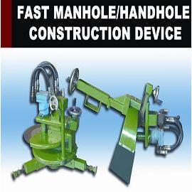 Fast Manhole/Handhole Construction Device