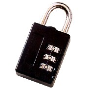 COMBINATION LUGGAGE LOCK