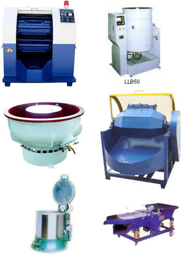 Vibratory Finishing Machine And Dryer