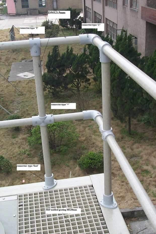 Grating Fiberglass, Aluminum, Steel, Stair Tread & Handrail System
