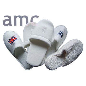 Terry Cloth Toweling Slippers H, Otel Slipper, Moccasin Beach Slipper (Терри Cloth полотенце тапочки H, Otel башмачок Moccasin Be h башмачок)