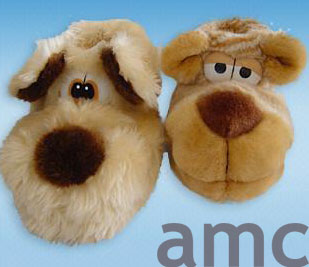 Terry Cotton Slippers Animal ()