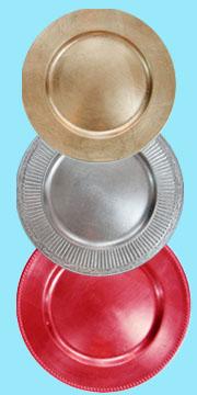 Plastic Charger Plate (Зарядное пластиковые плиты)