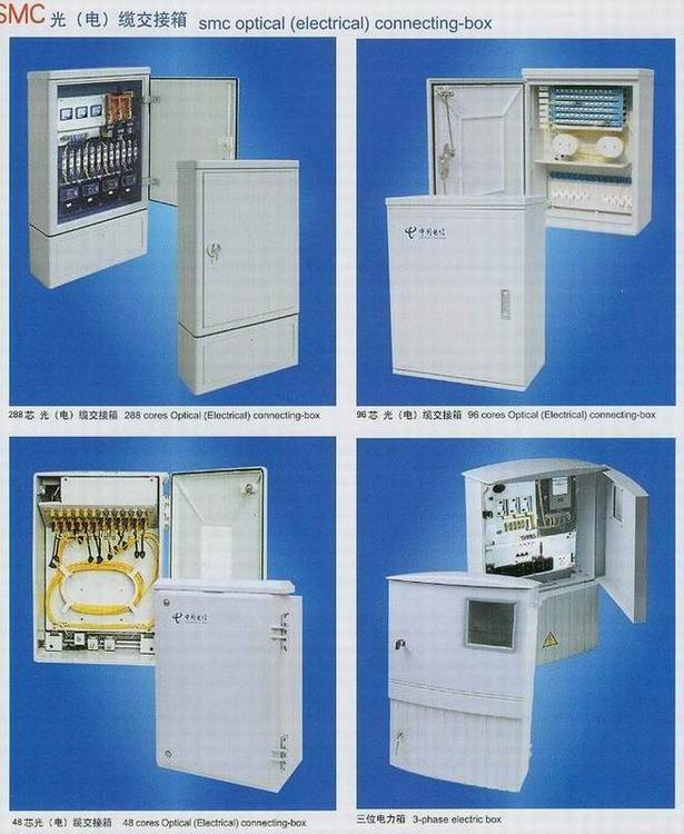 Fiberglass SMC BMC GMT Materials , Electrical Meter Box, Cabinet