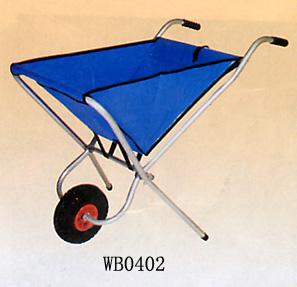 Foldable Wheel Barrow, Garden Cart.