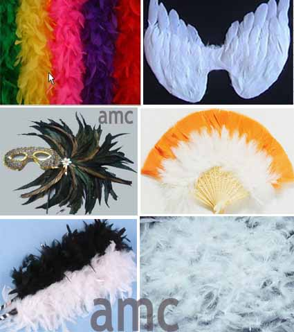 Feather Eye Mask (Перу Eye Mask)