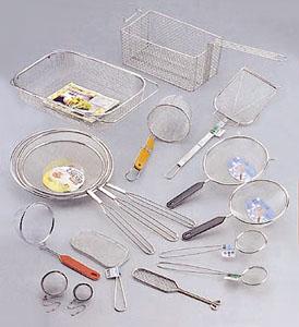 Stainless Steel Wire Mesh Strainers, Mesh Basket, Tea Strainer (Нержавеющая сетка фильтры, Mesh корзины, чайное ситечко)