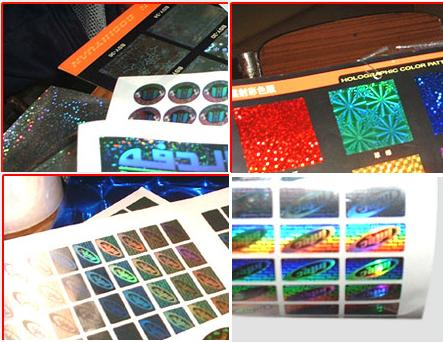 2D,3D Hologram Stickers (Security Labels)