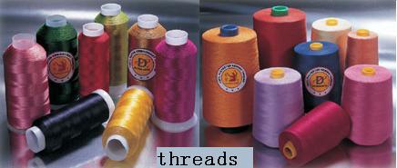 Thread, Button, Zipper,Non-woven (Пряжа, кнопки, молнии, нетканые)