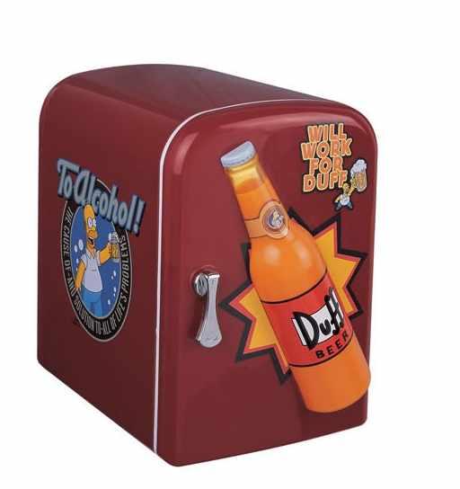 Mini-Cooler (FK-4AD-4, 4 Liter, OEM für Duff Simpsons `Beer) (Mini-Cooler (FK-4AD-4, 4 Liter, OEM für Duff Simpsons `Beer))