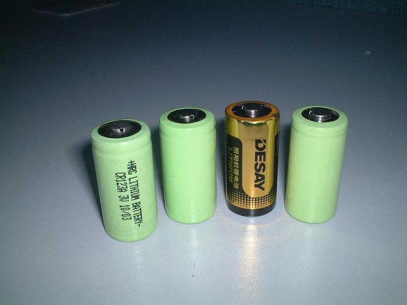 Cr123a Photo Lithium Battery (Фото CR123A литиевая батарея)