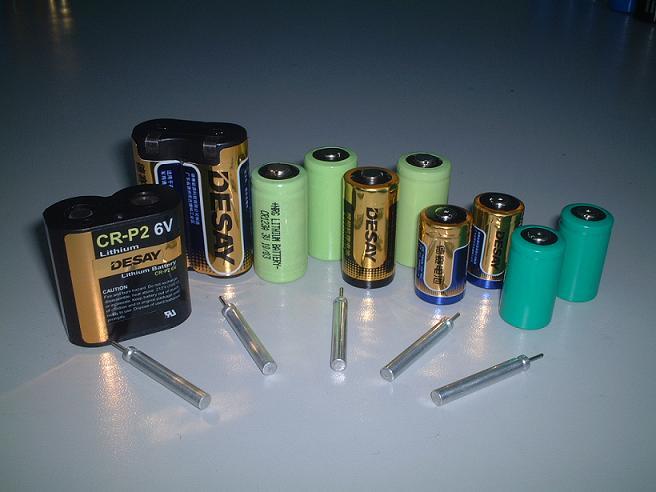 Photo (Camera) Lithium Battery-CR123A,CR2,2CR5,CR-P2,CR-V3 (Фото (камера) литиевая батарея CR123A, CR2, 2CR5, CR-P2, CR-V3)
