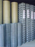 Galvanized And PVC Coated Chain Link Fence, Chicken Mesh, Welded Mesh