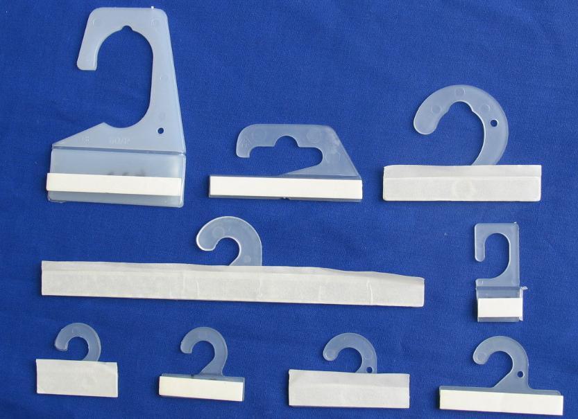 Rigid Hooks, Hang Tabs, Plastic Hooks (Жесткая Крючки, Hang Tabs, пластиковые крючки)
