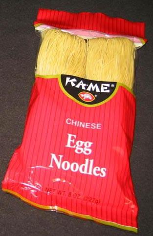 Egg Noodles - FDA Approved