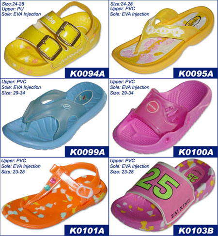 Lovely Kids Sandals, Slippers For Summer 2004 (Lovely Дети сандалии, тапочки на лето 2004 года)