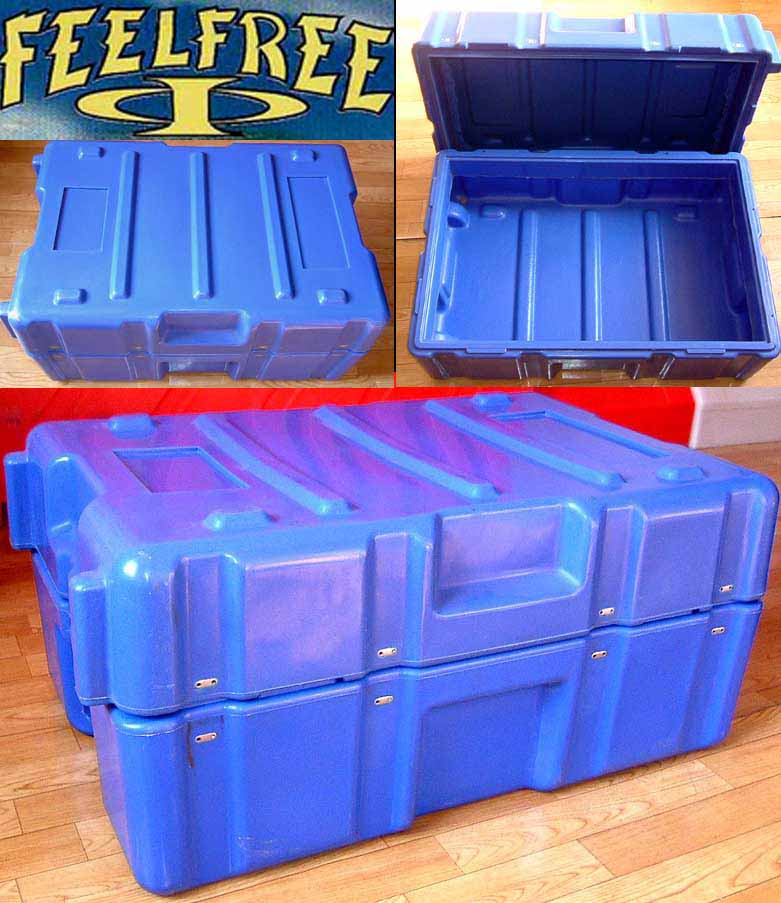 Plastic packaging box By Rotational Moulding
