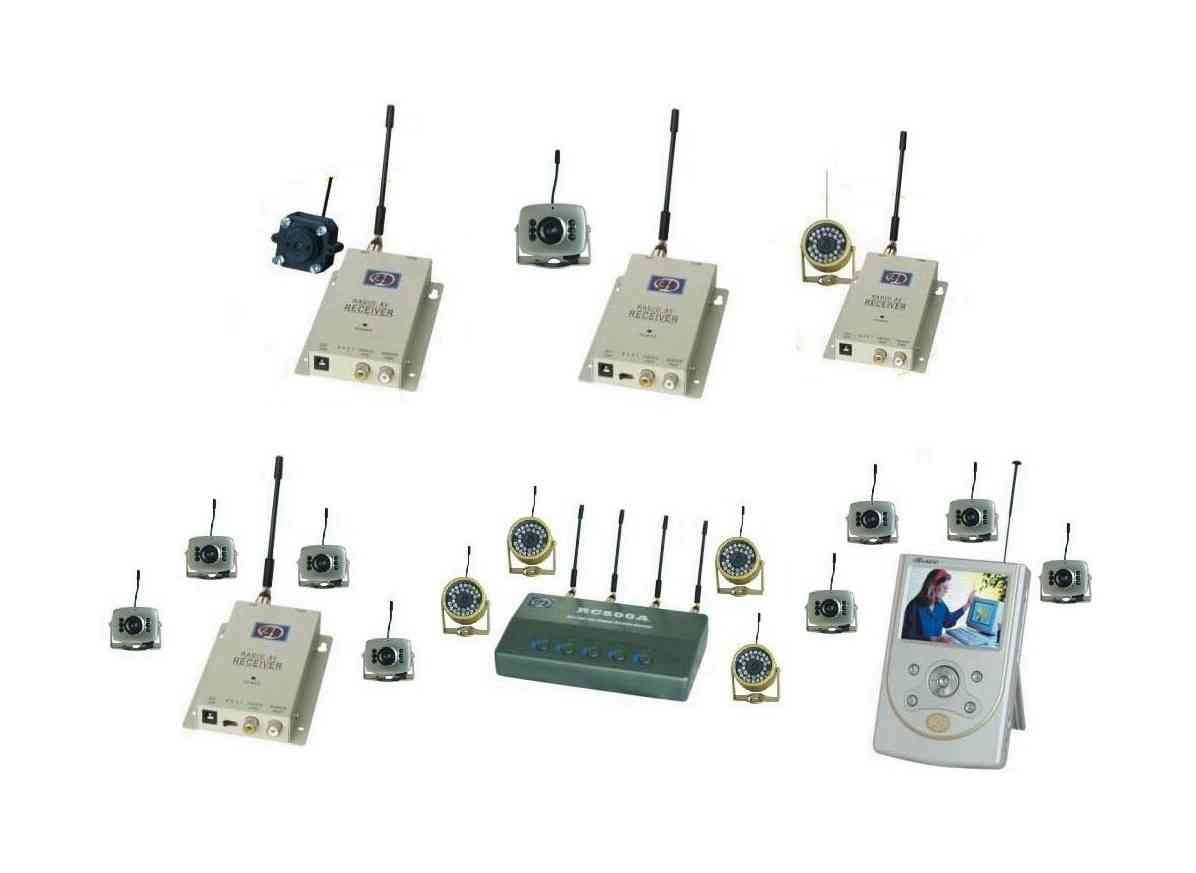 Wireless Mini CMOS Color Cameras (Wireless Mini CMOS Цветные видеокамеры)