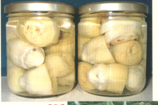 Artichokes In Brine, Tinns And Jars (Артишоки в рассоле, Tinns и банок)