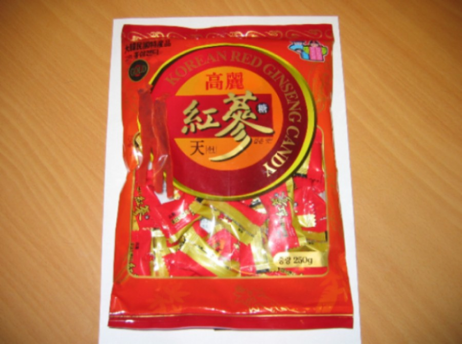Ginseng And Red Ginseng Candy